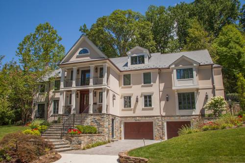 Custom built eco-friendly home by Chryssa Wolfe with Hanlon Design