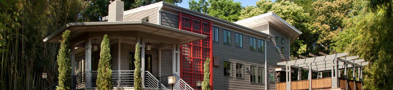 Full service custom home design and build in Washington DC