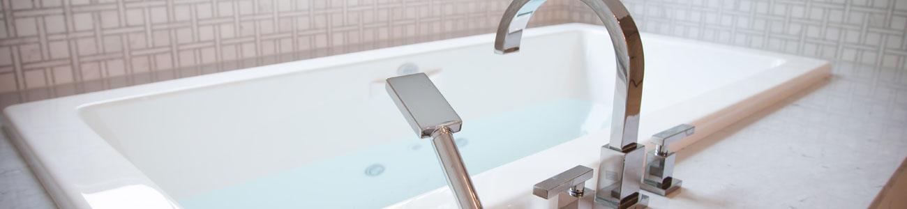 Luxury custom bathrooms by Chryssa Wolfe with Hanlon Design Build