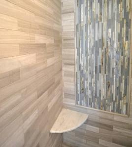 Custom tile work by Hanlon Design Build