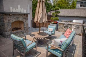 Outdoor living space by Chryssa Wolfe