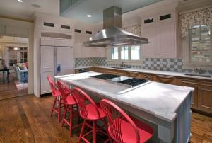Custom designer kitchen by Chryssa Wolfe with Hanlon Design Build
