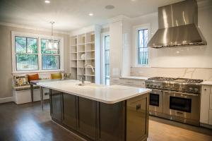 Designer kitchen by Hanlon Design Build