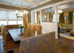 Interior design by Chryssa Wolfe with Hanlon Design Build