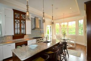Custom designed kitchen in Washington DC