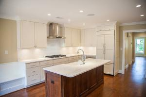 Custom designed kitchen in Washington DC, S Street
