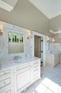 Custom desgined bathroom in Washington DC