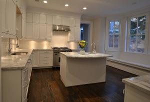 Designer kitchen by Chryssa Wolfe with Hanlon Design Build