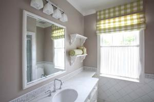 Luxury bathroom by Hanlon Design Build