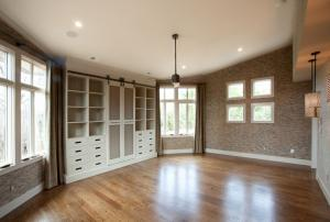 Custom built-ins by Hanlon Design Build