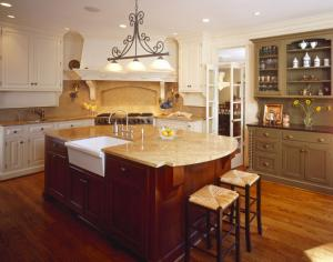 Custom kitchen by Chryssa Wolfe
