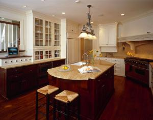 Designer kitchen in Bethesda, MD