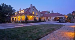 Custom home by Chryssa Wolfe with Hanlon Design