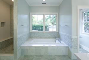 Custom designed bathroom in Washington DC